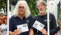 Bélyegen az Omega - magyar rockklasszikusokról indult bélyegsorozat (FOTÓK)