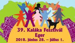 Június végén rendezik a 39. Kaláka Fesztivált Egerben
