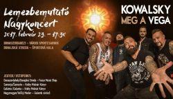 NYERJ BELÉPŐT: Kowalsky meg a Vega lemezbemutató koncertet ad Dunaszerdahelyen