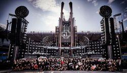 60 óra egy színpad építéséhez? - videón egy Rammstein koncert előkészületei